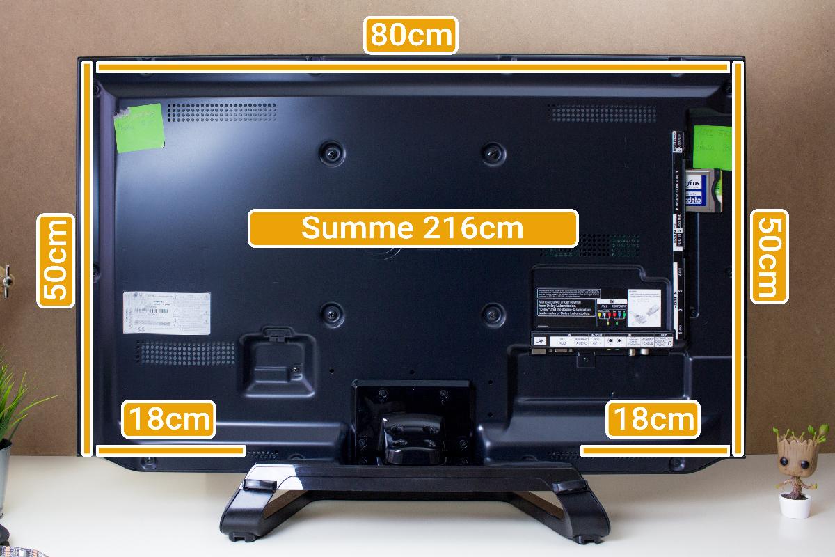 Ambilight Projekt - LED Streifen Längenermittlung
