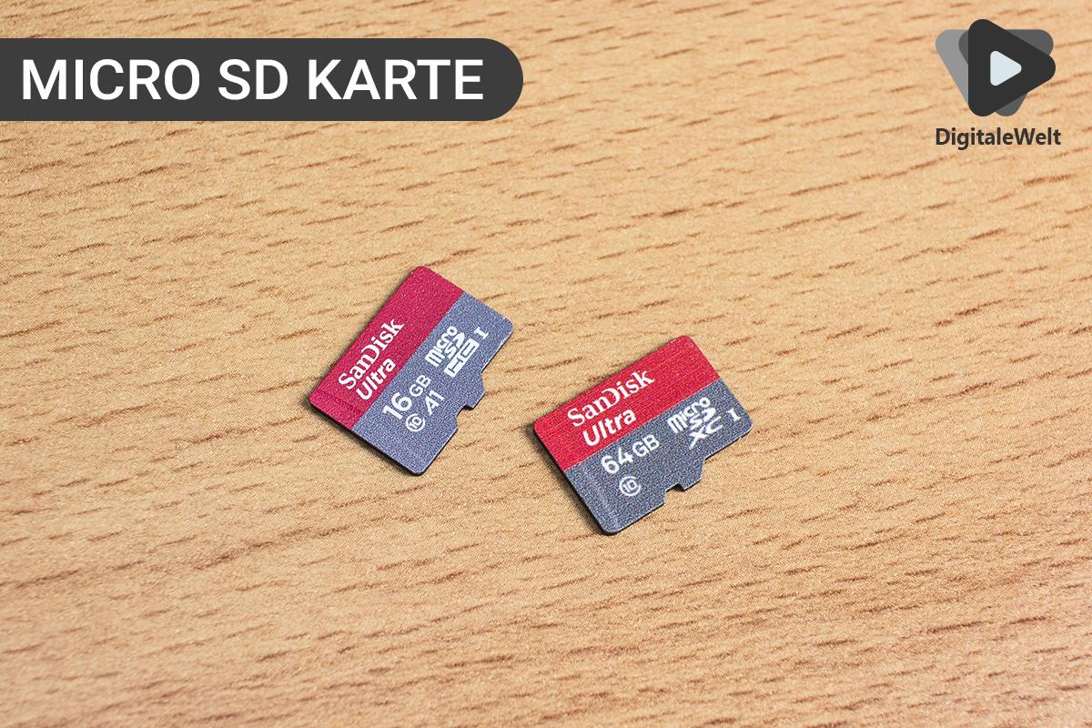Ambilight Projekt - Micro SD Karte