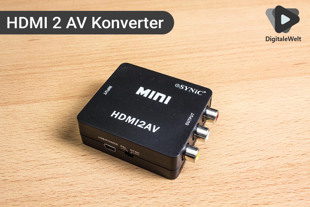 Ambilight Projekt - HDMI 2 AV Konverter