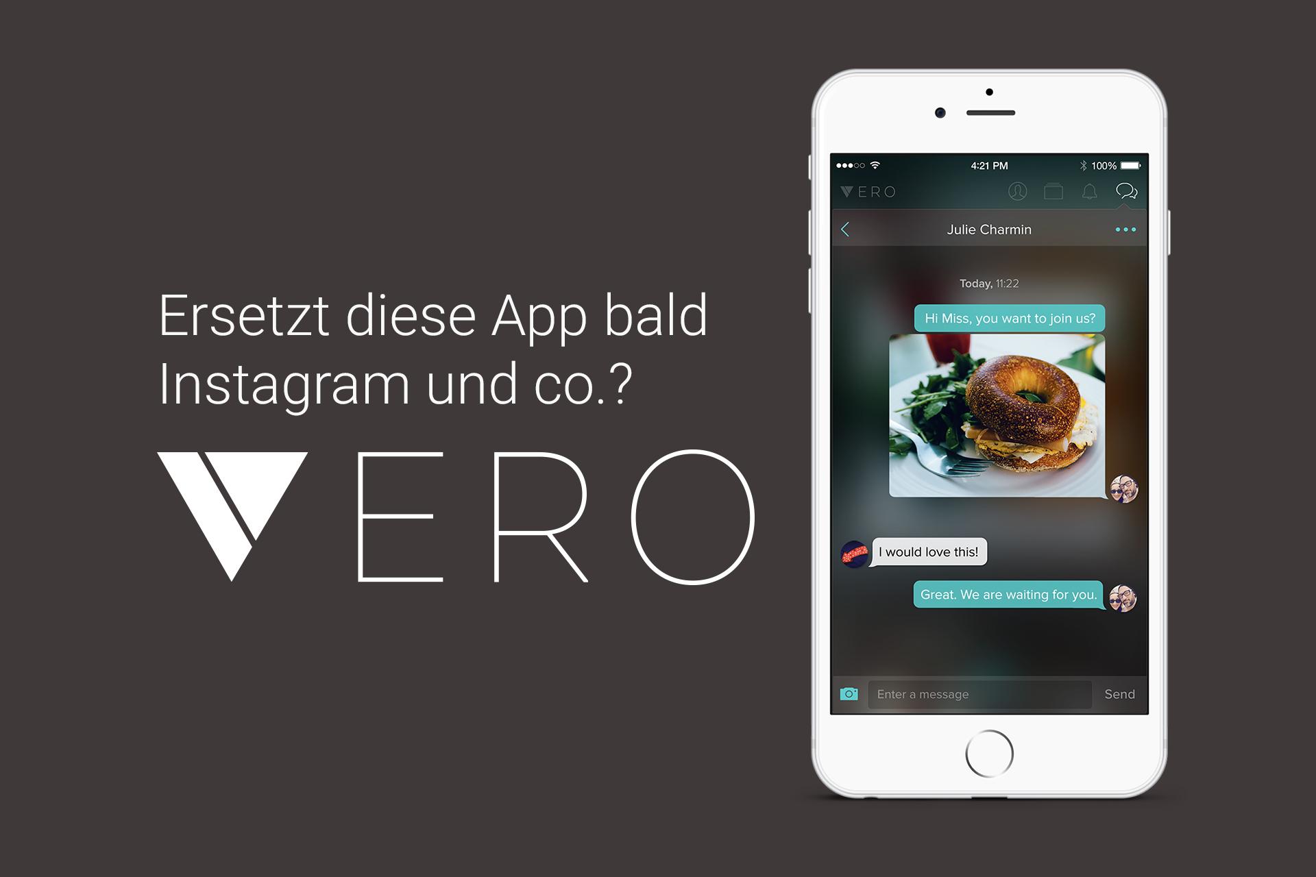 VERO - Die neue Instagram Konkurrenz