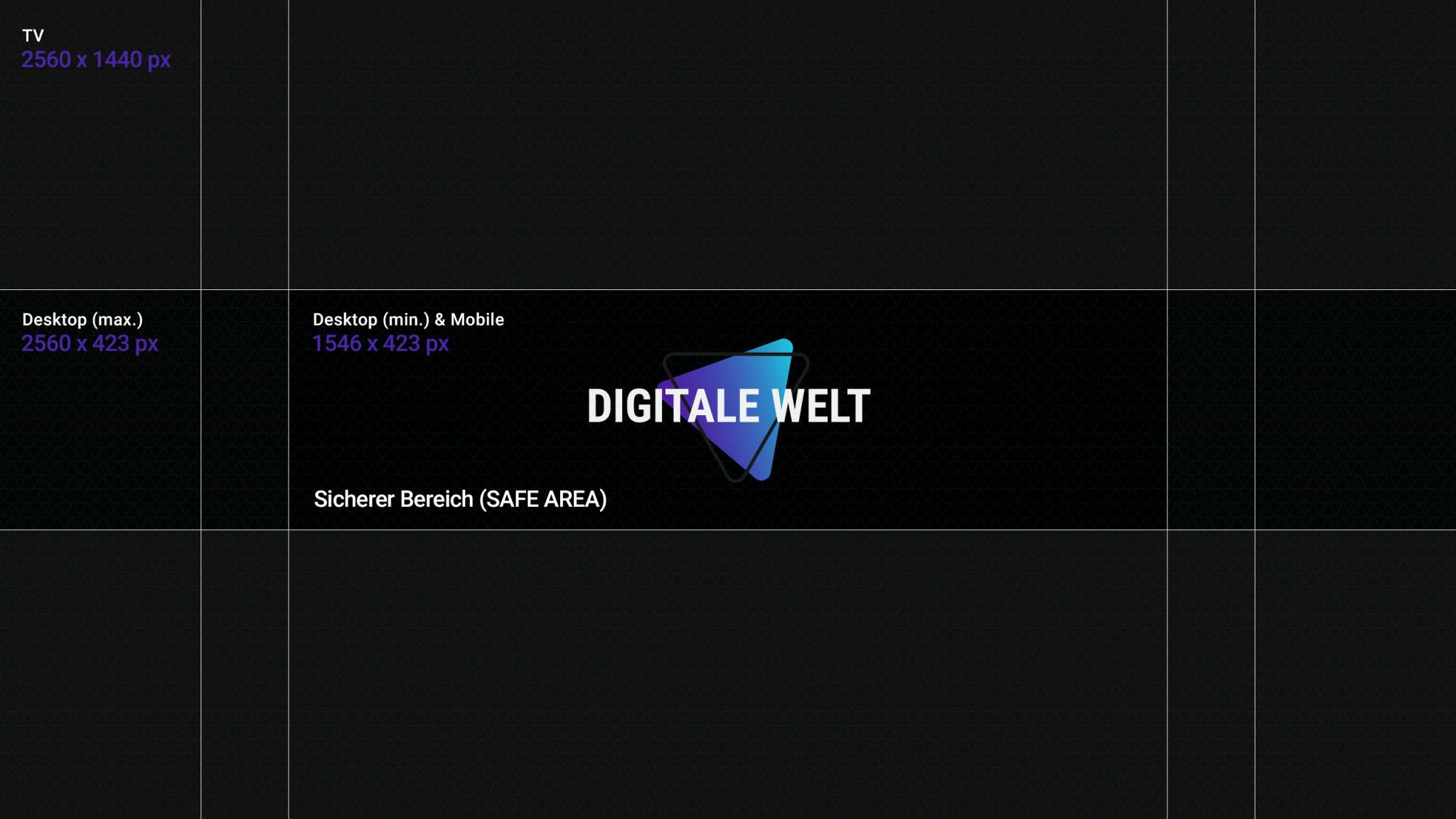 Youtube Kanalbild Template 2018 Digitalewelt Digitale Welt