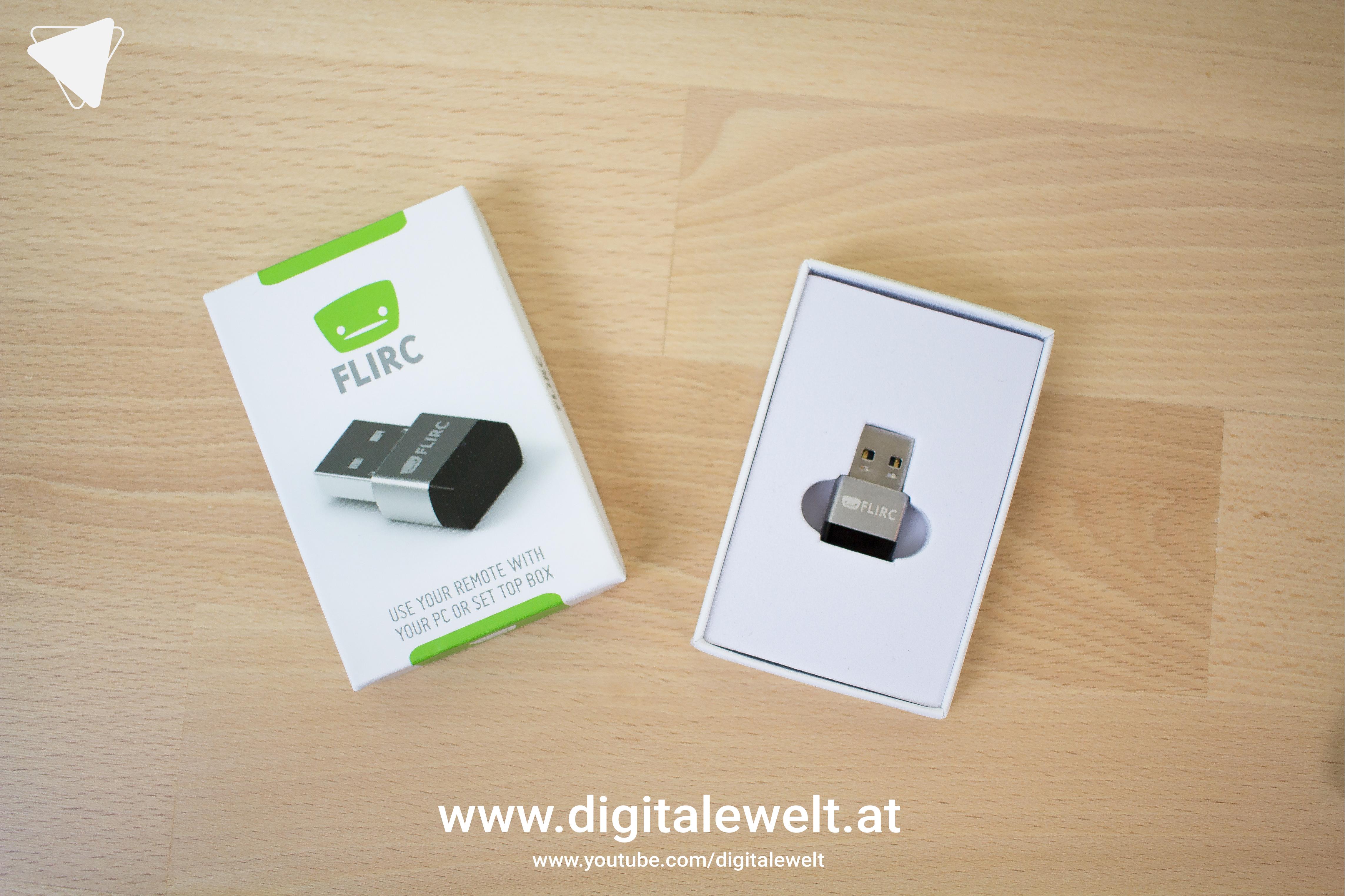 FLIRC USB Empfänger (IR Remote) - DigitaleWelt