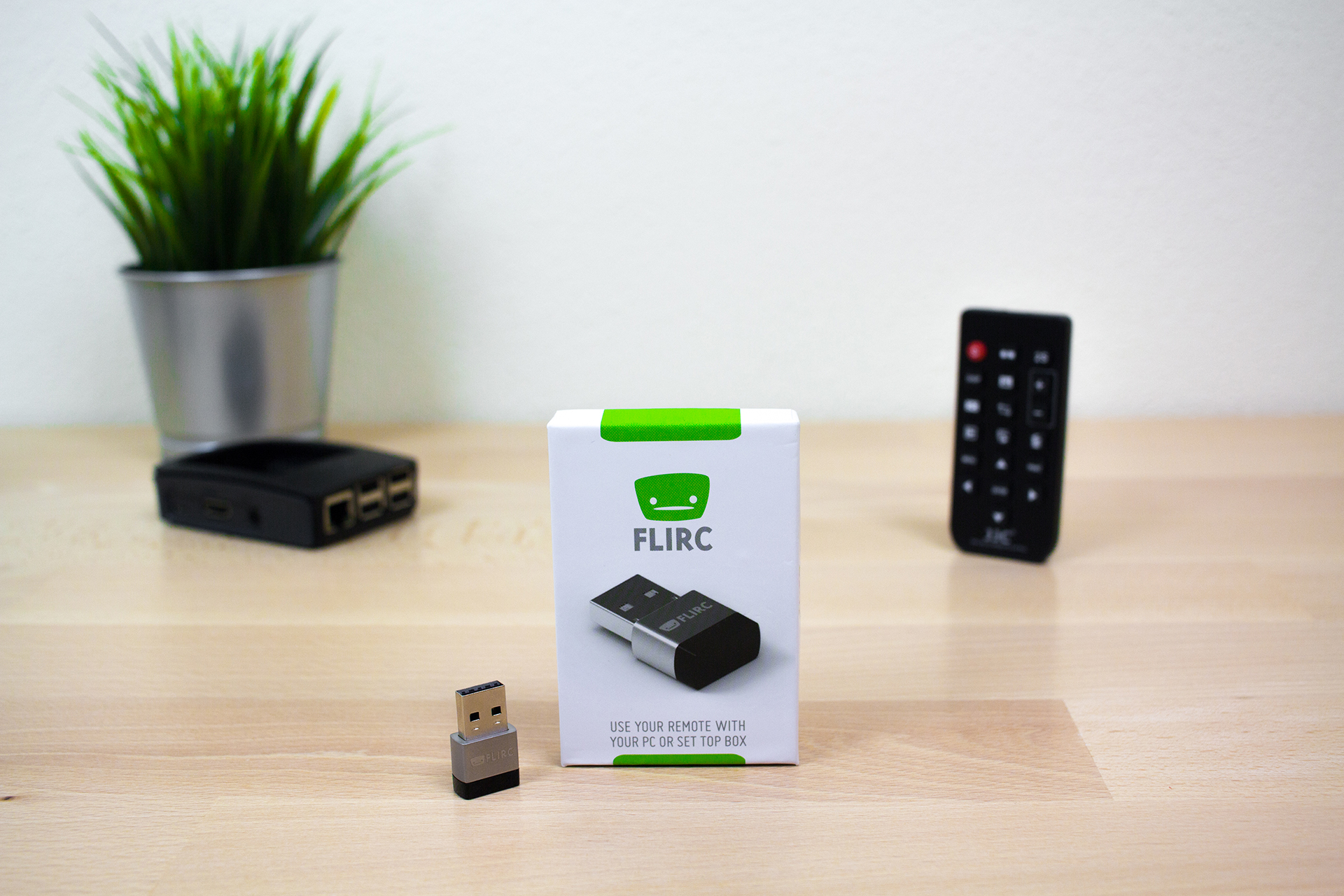 Raspberry Pi Remote - Flirc USB 2nd Generation - DigitaleWelt