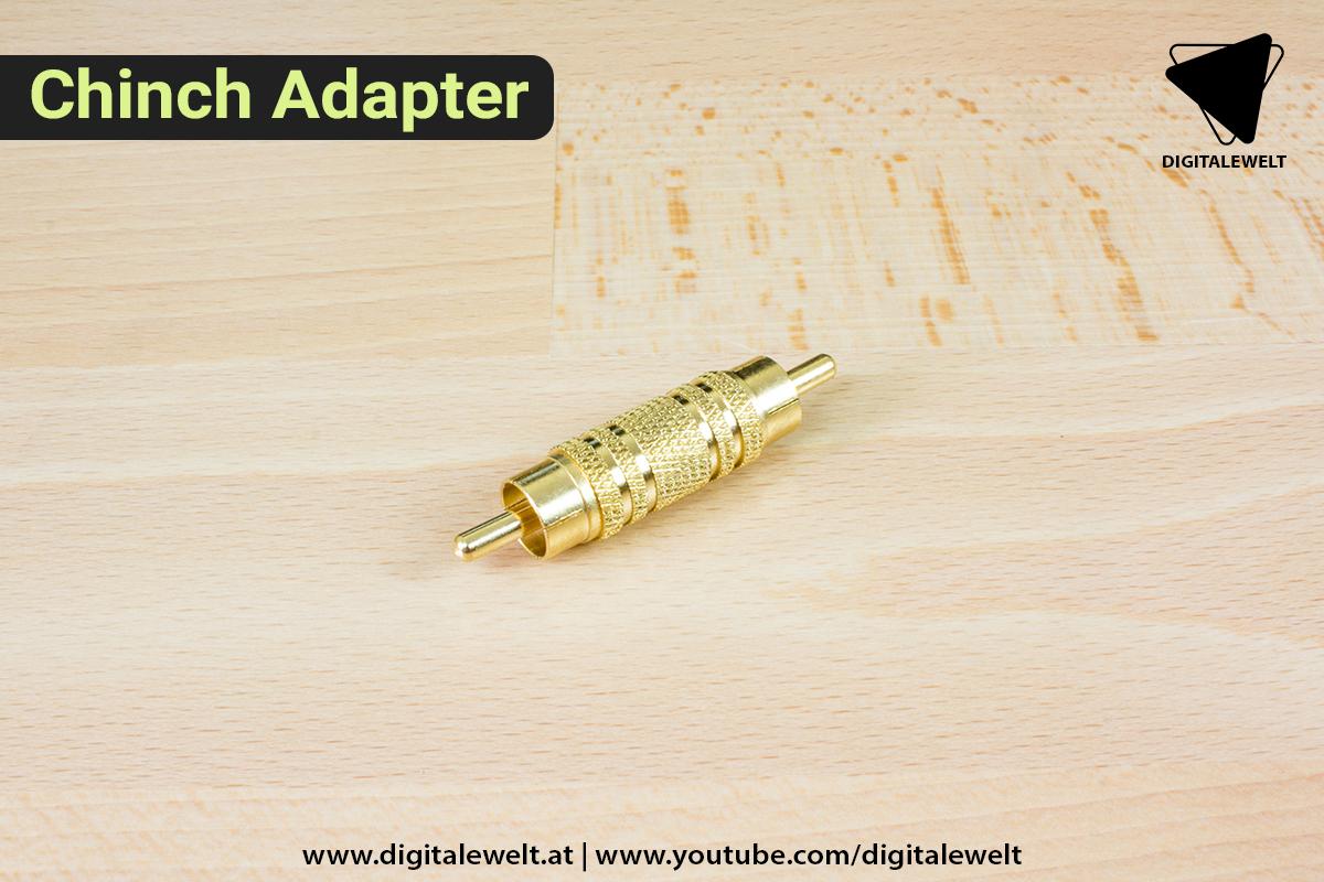 Raspberry Pi Ambilight Projekt - Chinch Adapter