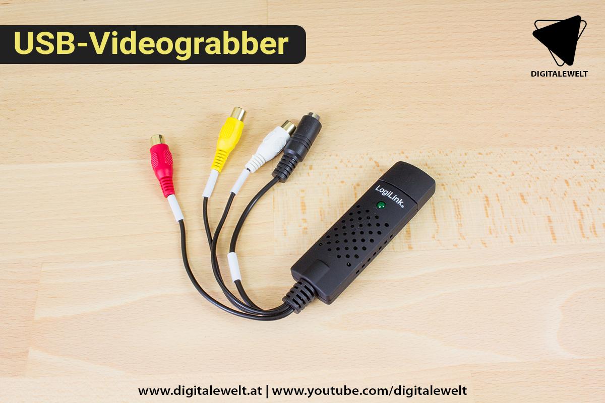 Raspberry Pi Ambilight Projekt - USB Videograbber