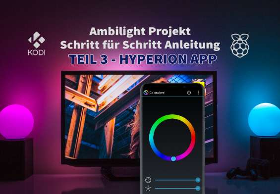 Raspberry Pi Ambilight Tutorial Hyperion App