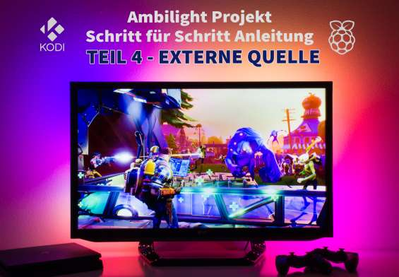 Raspberry Pi Ambilight Tutorial externe Quelle