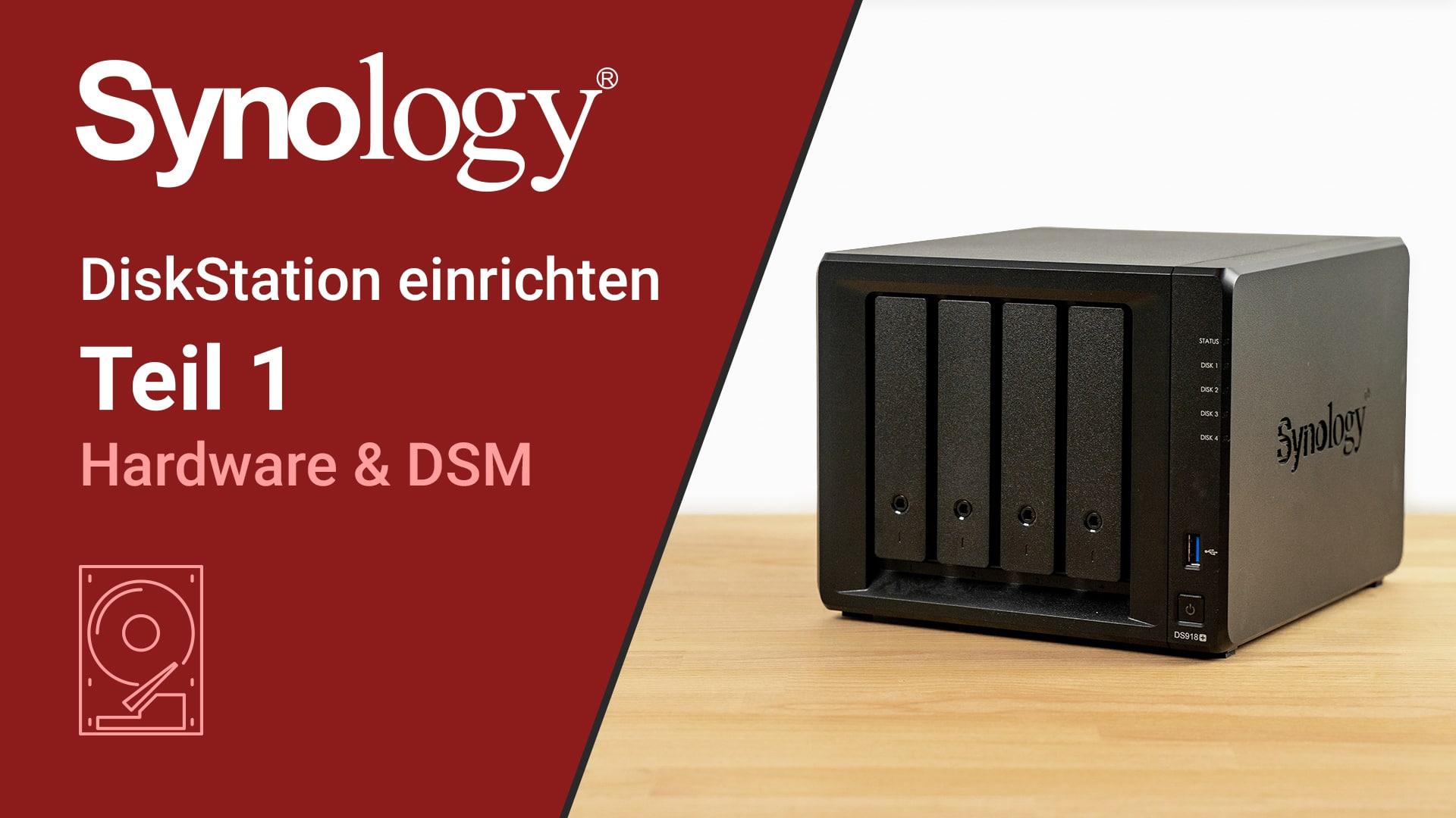 DiskStation einrichten Teil1 - DigitaleWelt