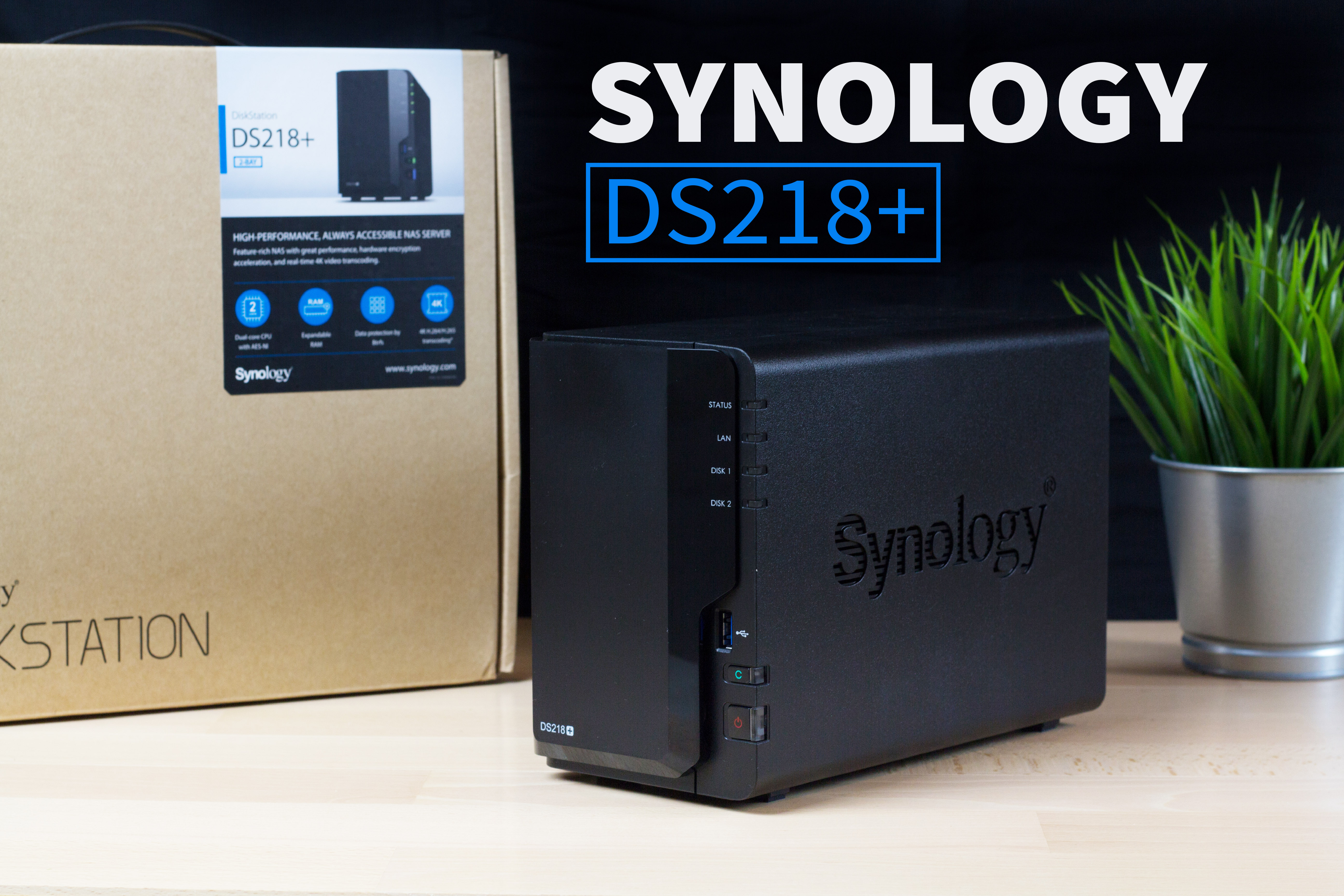 Synology DiskStation DS218+ DigitaleWelt