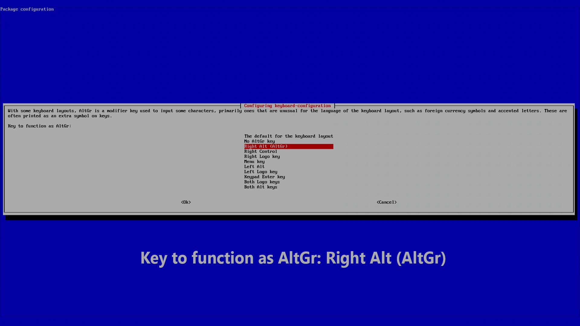 DigitaleWelt RetroPie Anleitung - Right Alt (AltGr)