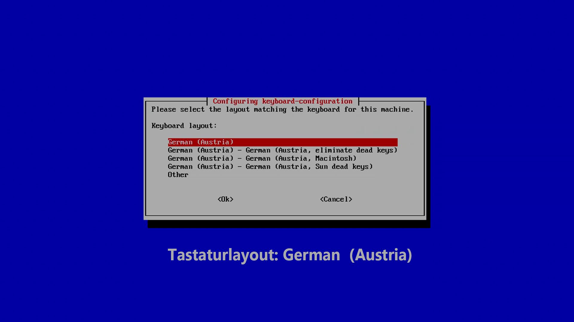 DigitaleWelt RetroPie Anleitung - Tastaturlayout - German (Austria)
