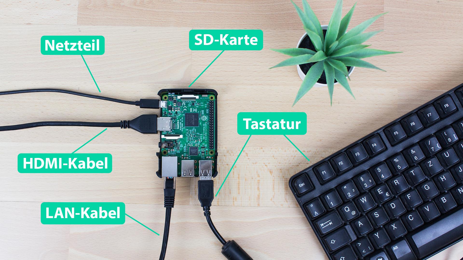 DigitaleWelt openHAB 2 - Raspberry Pi anschließen