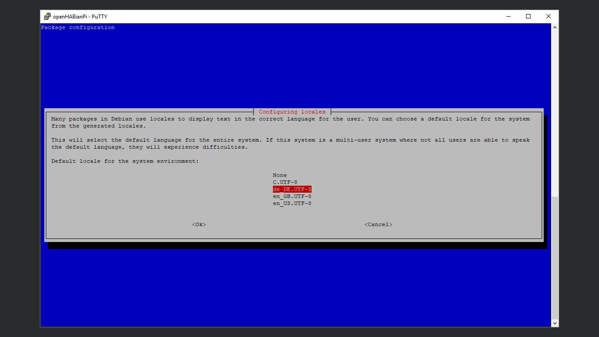 DigitaleWelt openHAB 2 - openHABian de_DE.UTF-8