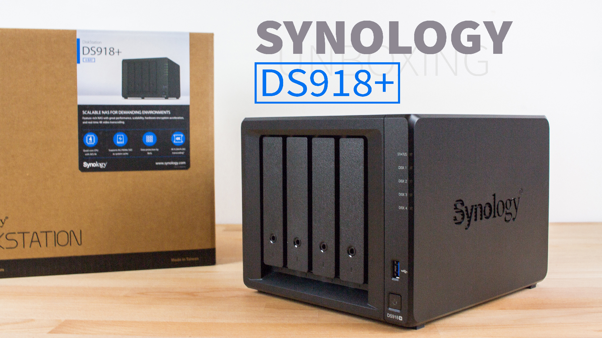 Synology DS918+ DigitaleWelt