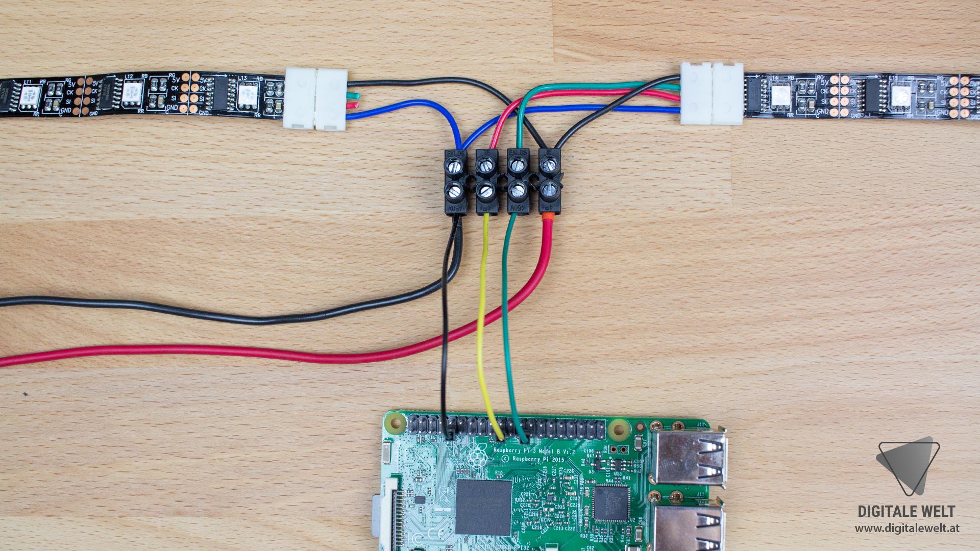 Ambilight ohne Löten - LED Streifen und Netzteil OHNE LÖTEN (DigitaleWelt)