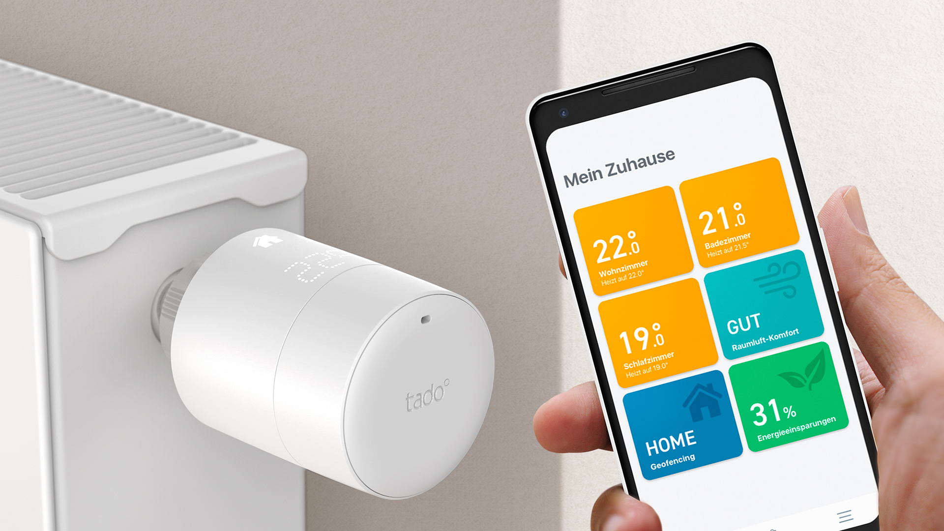 Top 10 Smart Home Gadgets 2019 - tado° Smartes Thermostat V3+ (DigitaleWelt)