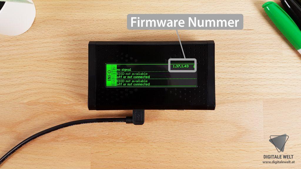 HDFury Vertex Firmware - DigitaleWelt.at