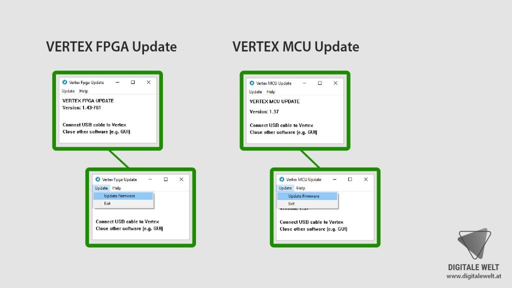 HDFury Vertex Firmware update - DigitaleWelt.at