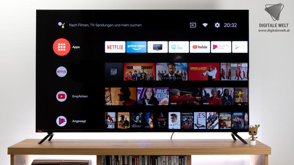 KAGIS TV Test - Android TV - digitalewelt.at