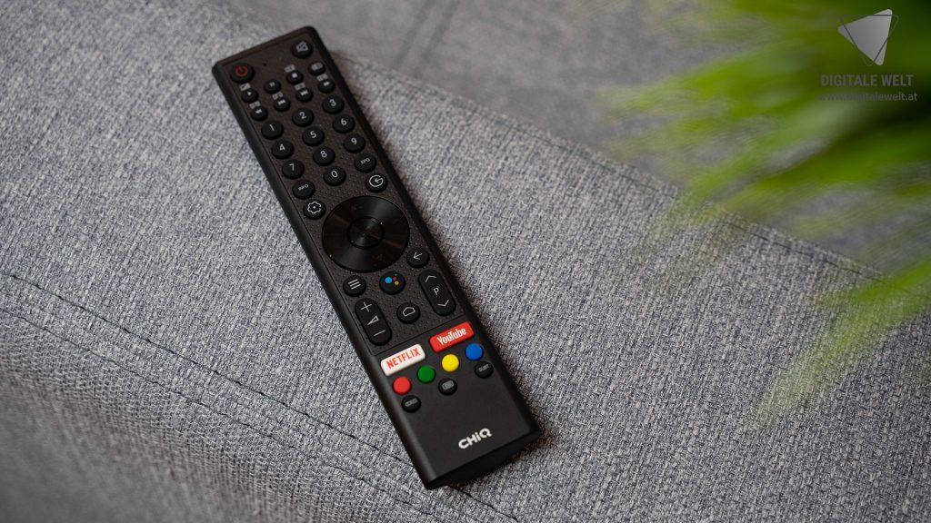 KAGIS-TV-Test-Fernbedienung