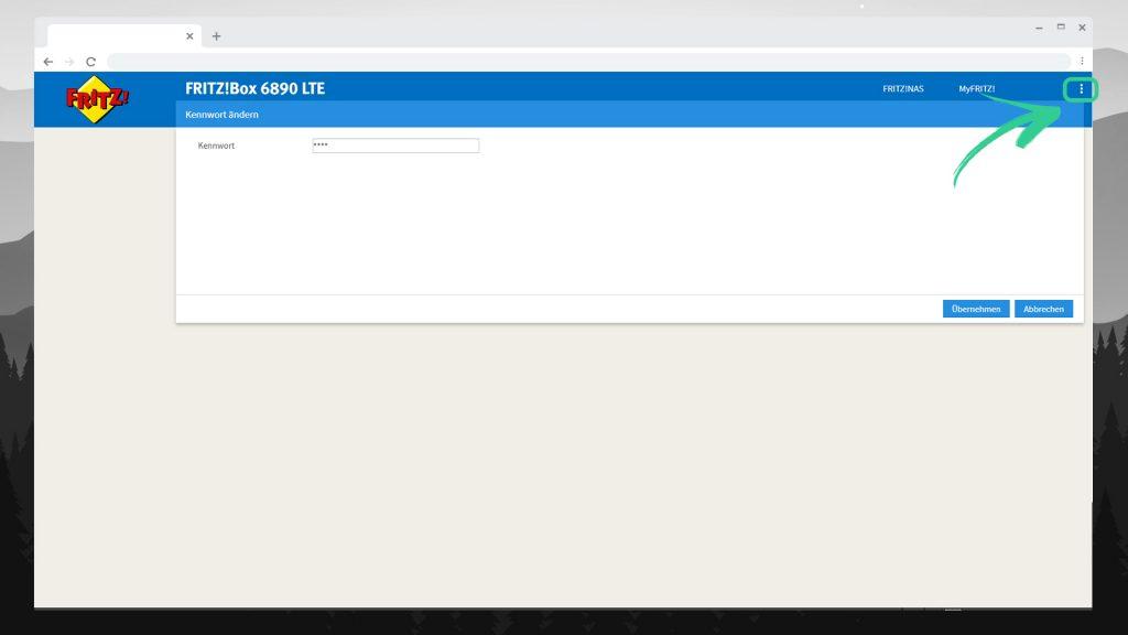 FRITZBOX 6890 einrichten - Kennwort ändern - digitalewelt.at