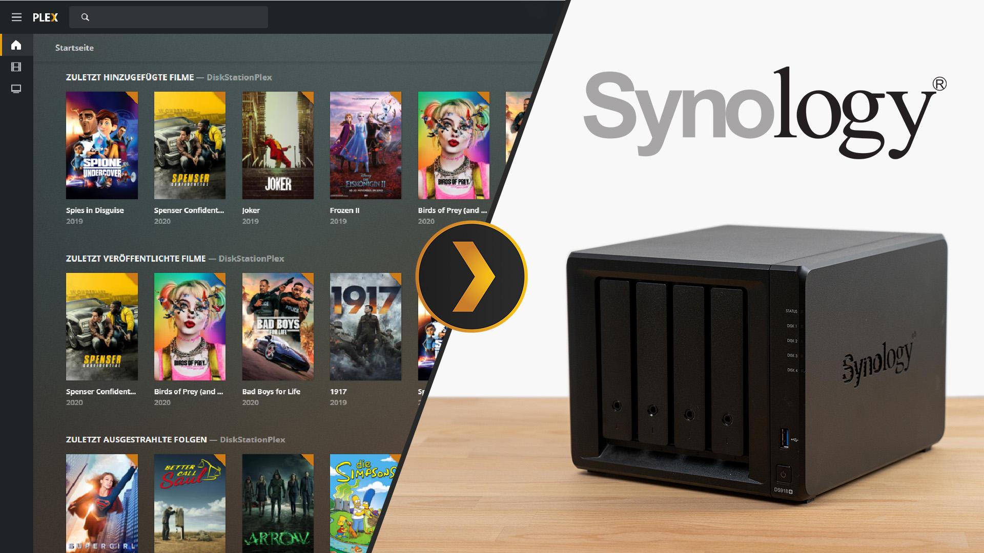 Synology DiskStation PLEX installieren & einrichten