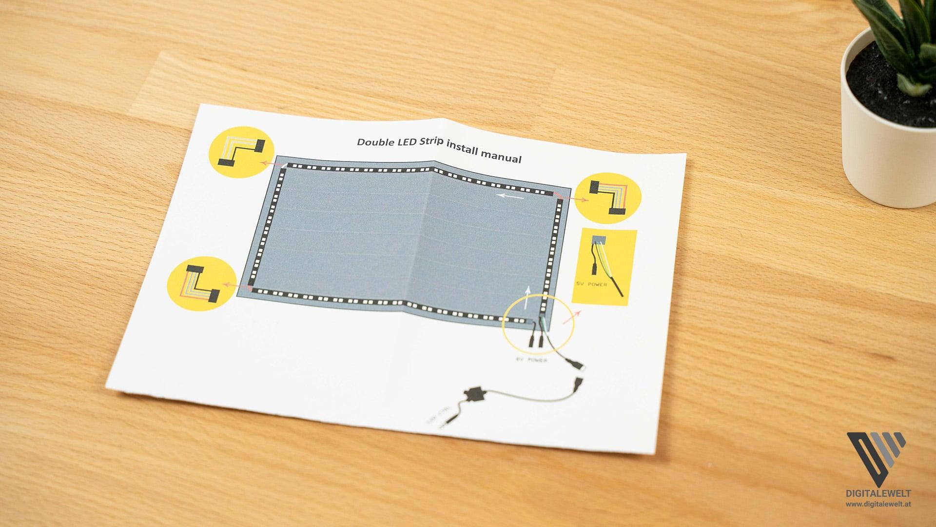 HDFury DIVA Ambilight Kit - Verkabelungsschema - digitalewelt.at