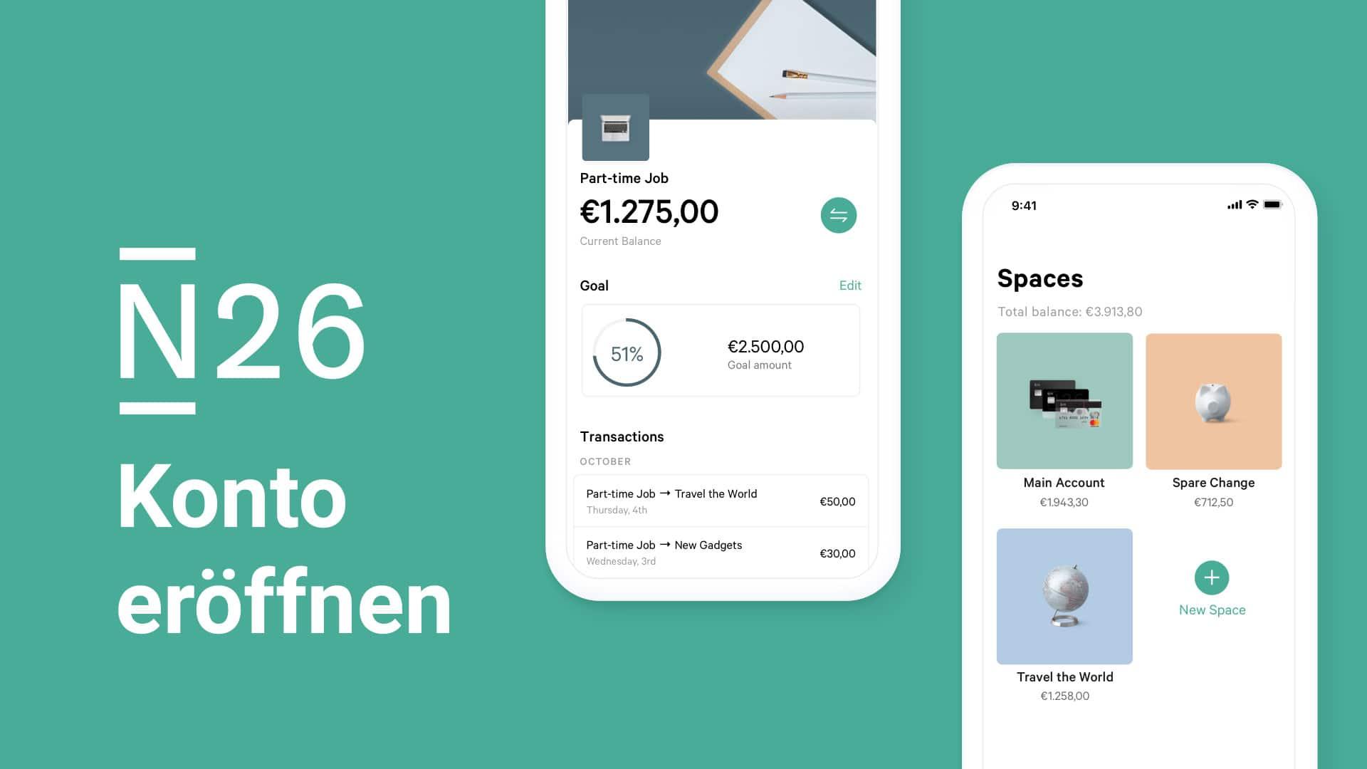N26 Konto eröffnen - digitalewelt.at