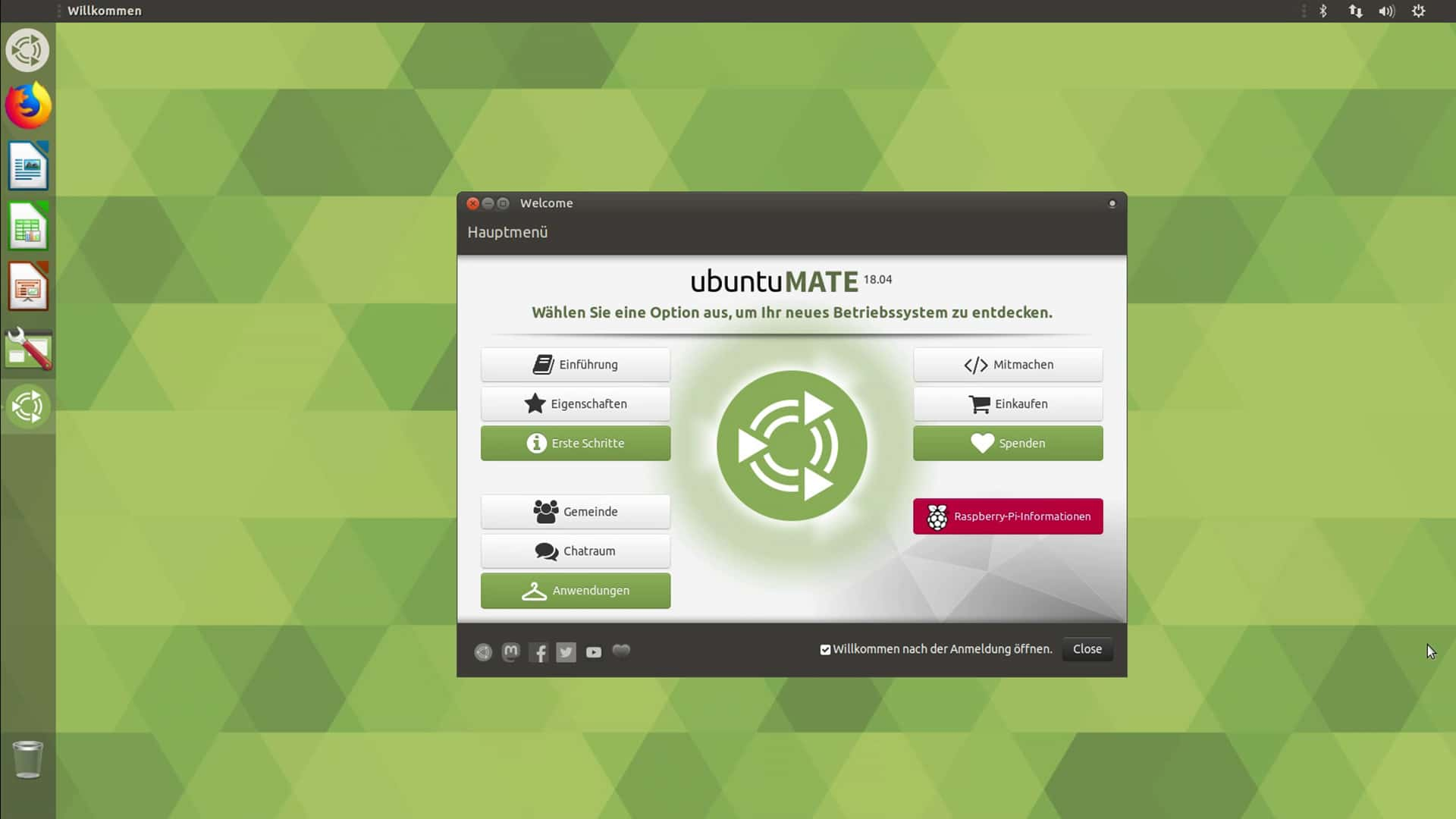 Raspberry Pi Betriebssysteme - UbuntuMATE - digitalewelt.at