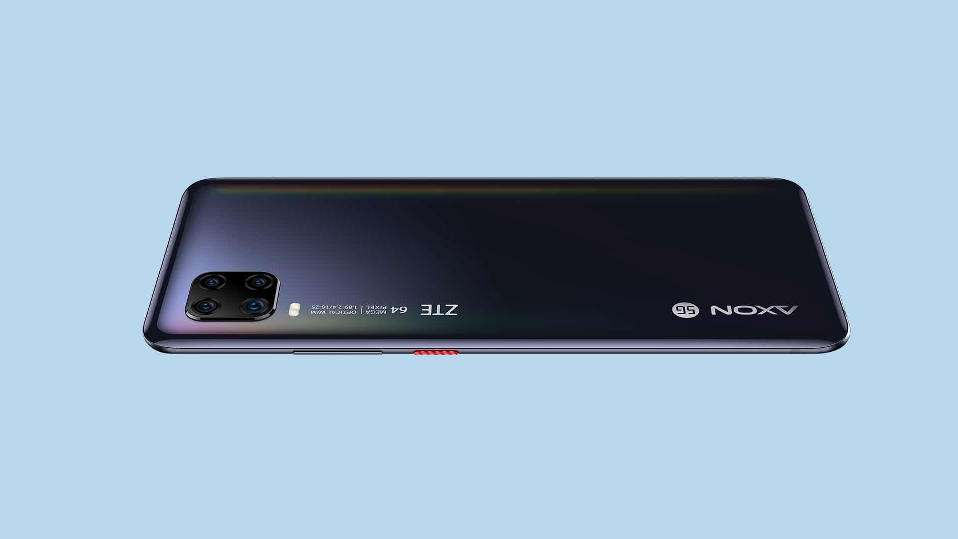 ZTE Axon 11 5G - Rückseite - digitalewelt.at