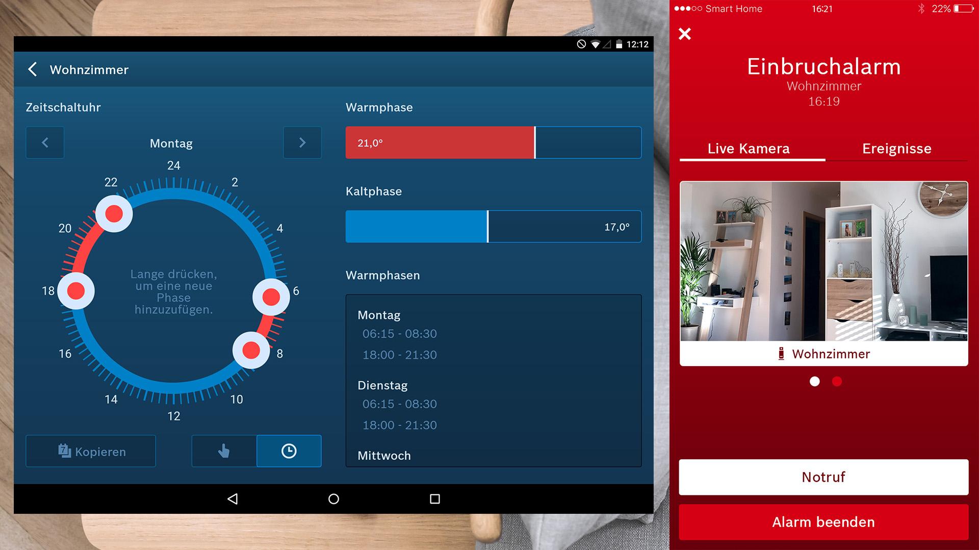 Bosch Smart Home - Smart Home App - digitalewelt.at