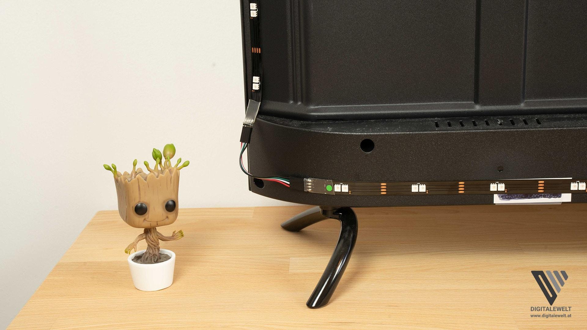 HDFury DIVA Ambilight - LED-Streifen Ecken am Fernseher - digitalewelt.at