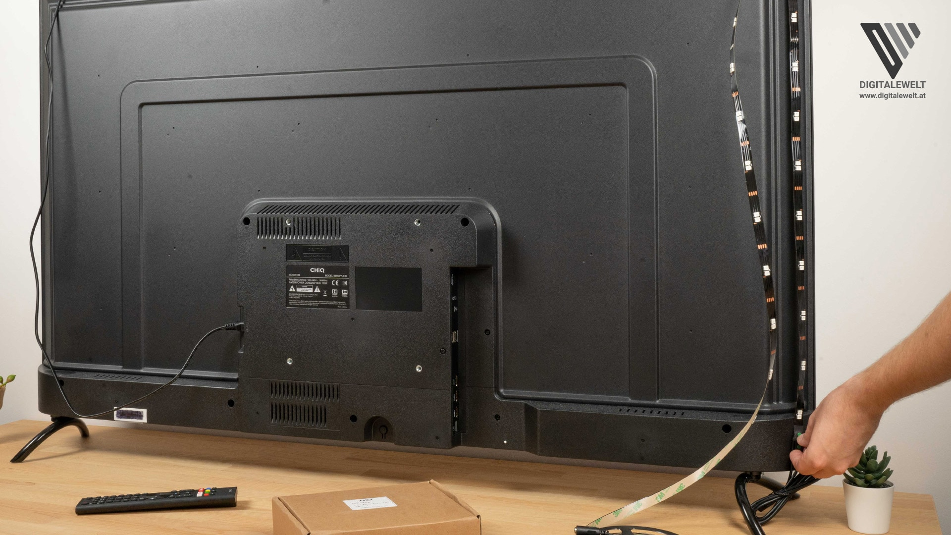 HDFury DIVA Ambilight - Länge der LED-Streifen überprüfen - digitalewelt.at