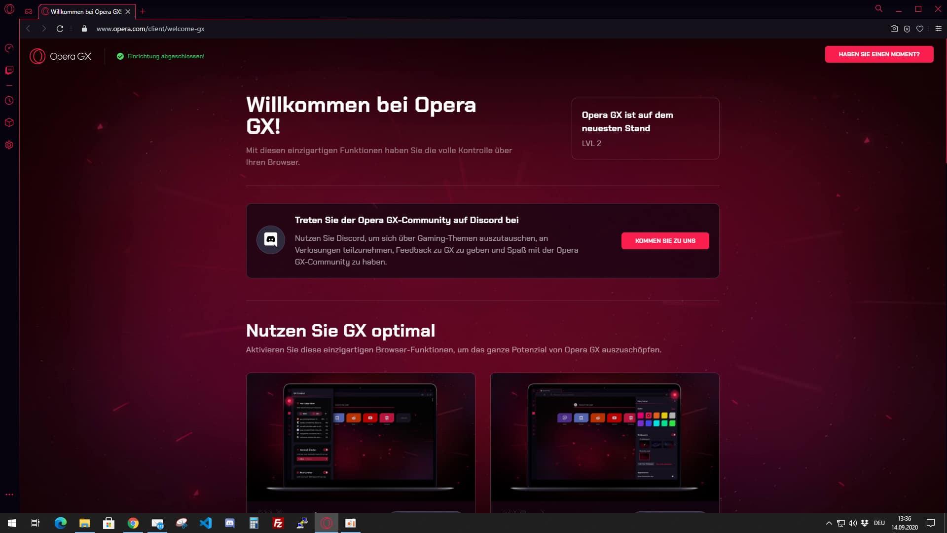 Opera GX - Gaming Browser - digitalewelt.at